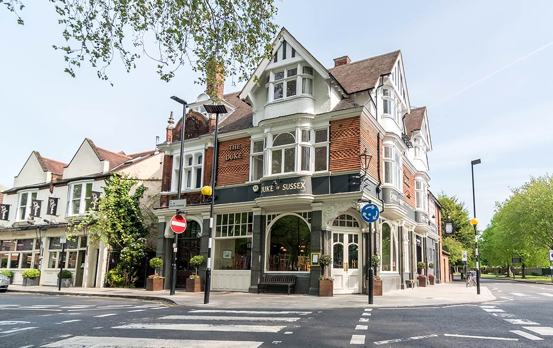 The Duke of Sussex, Chiswick